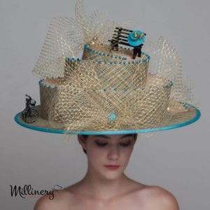 couture-hat-wedding-cake